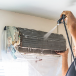Pressure Wash Aircon Cleaning Townsville