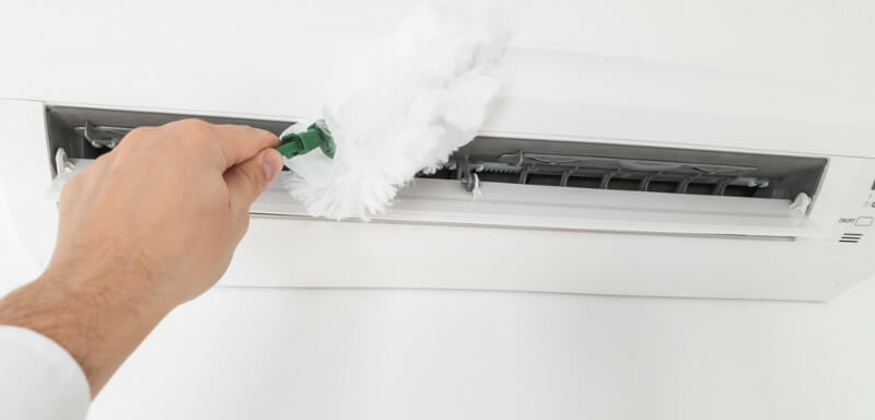 clean and safe from mould spores